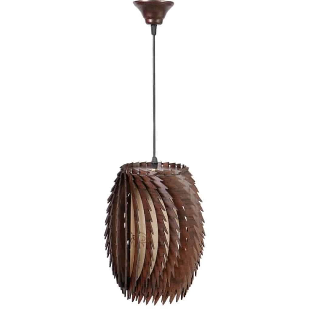 لوستر چوبی پره ای