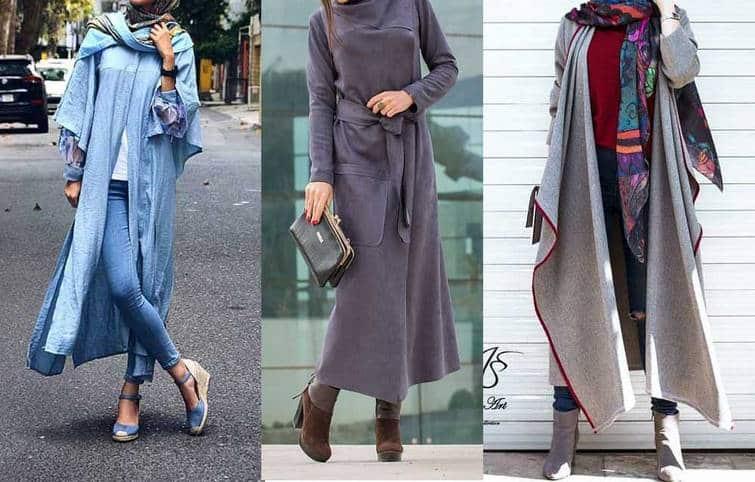 مانتو دخترانه در مدلها و رنگهای مختلف