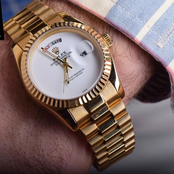 خرید ساعت مچی استیل رولکس