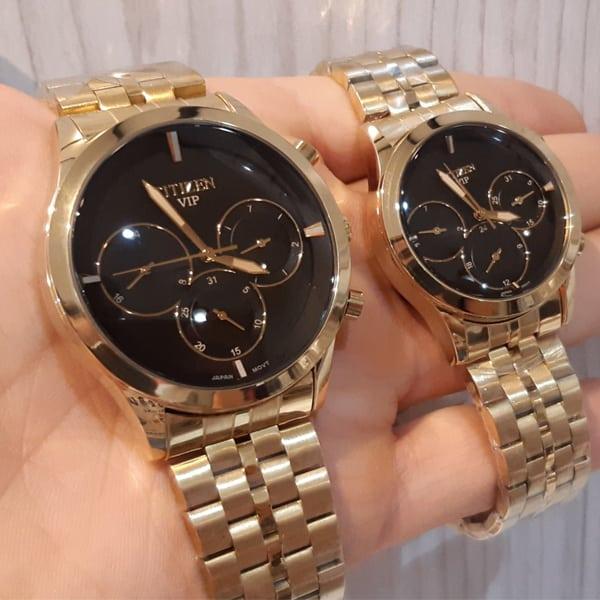 خرید ساعت مچی ست طلایی