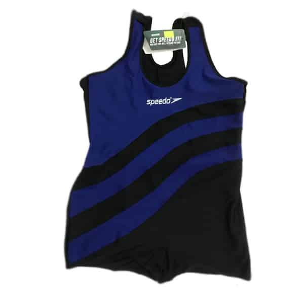 لباس شنا مشکی آبی