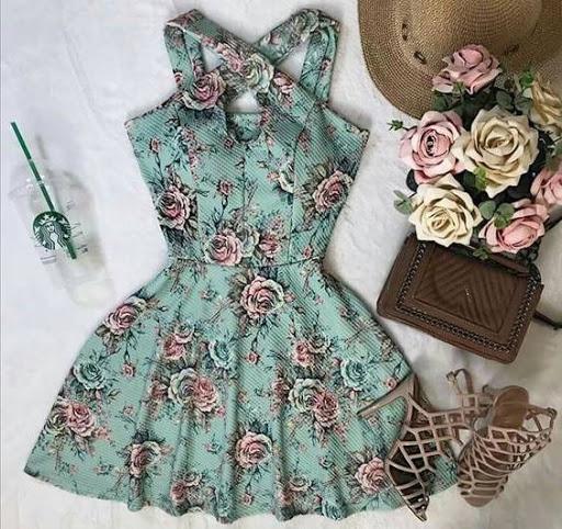 لباس مجلسی زنانه گلدار